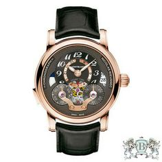 Montblanc - Nicolas Rieussec Chronograph Open Home Time # 107067