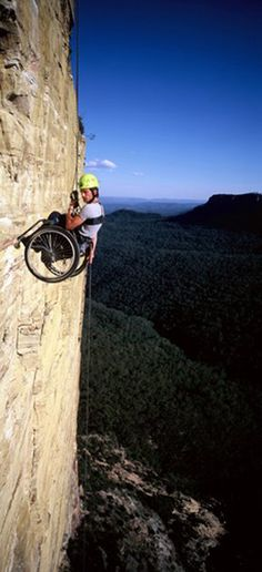 For me: Heart Attack waiting to happen! LOL But if you're an adrenaline junky with a dif-ability, this could be you!