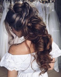 Featured Hairstyle: Ulyana Aster;www.ulyanaaster.com; Wedding hairstyle idea. #weddinghairstyles
