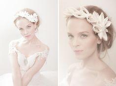 Couture Headpieces by Swedish Designer Orjan Jakobsson via Bespoke Bride