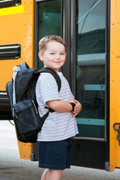 Sending your little one on the school bus for the first time can be a tad bit scary. Buses are big, they don't have seat belts, and the kids outnumber the driver by a lot. Before your child starts to ride the bus, go over the ground rules and let[Read more]