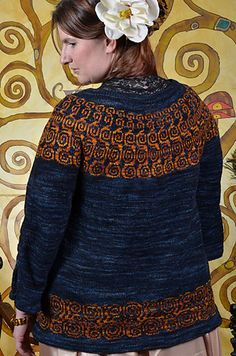 Ravelry: Expectation pattern by Christina Harris; my kind of yoke sweater!