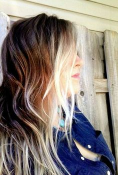 Ombre Hair. not this dark but i like how the ombre is on the layers and light around the face