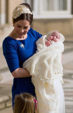 Princess Mary of Denmark with her Daughter Josephine