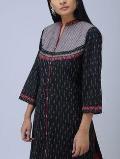 Silk Kurti Designs, Salwar Neck Designs, Kurta Neck Design, Neck Designs For Suits, Neckline Designs, Kurta Designs Women, Dress Neck Designs, Blouse Designs, Kurti Patterns