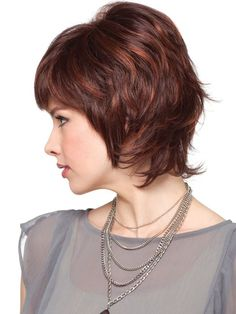 chic medium hair styles with layers 2