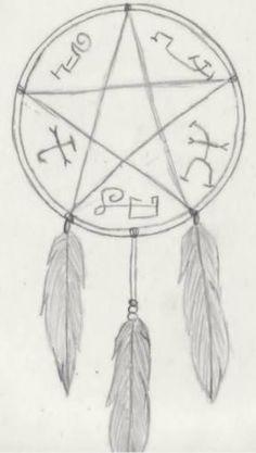 Devil's Trap dreamcatcher