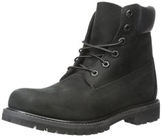"Timberland Women's 6"" Premium Boot, Black Nubuck, 9 D-Wid	$169.95 Free Shipping for Prime Members & Free Returns.  Details"