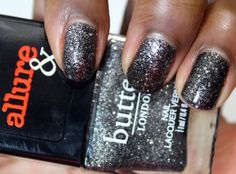 Allure and Butter London Arm Candy Nail Polish Collection   Disco Nap #bLxAllure