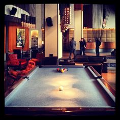 If you're not into swimming in our heated rooftop pool, we have the other kind for you. #Billiards
