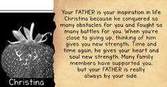 Who In Your Family Gives You The Most Strength?