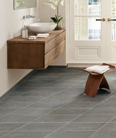 Dartrey™ Grey Rhombus Tile