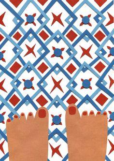 Tiles Papercut