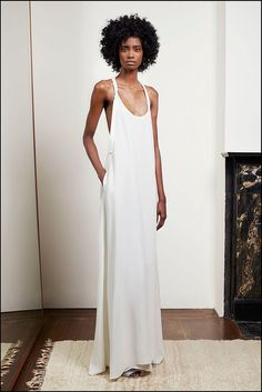 Hot Off the Spring '15 Runways — the Ultimate Wedding Dress Inspiration: When you're a bride — and even if you're not — it's hard not to draw the obvious link between the gorgeous white dresses coming down the Spring '15 runway and wedding gowns, right?