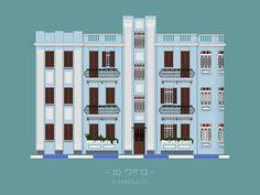 Tel Aviv Buildings on Behance