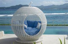 Skyline Design Iglu Daybed - modern - Patio Furniture And Outdoor Furniture - New York - Landscaper Outlet Bed Furniture, Outdoor Furniture, Outdoor Decor, Skyline Design, Backyard Patio Designs, Decoration Design, Daybed, Home Decor, Rattan
