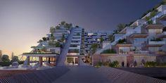 Meer beelden van winnend ontwerp Sluishuis - architectenweb.nl