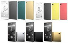 Sony Unveils Xperia Z5 Series Smartphones: Xperia Z5, Xperia Z5 Compact Have 23 MP Exmor RS Sensor and Faster Hybrid Autofocus (Phase Detection with Contrast Detection) Speed of 0.03 Sec + Z5 Premium Has World's First 4K UHD Display, 4K Video and 4K Upscaling to Enhance Non-4K Photos & Videos to 4K Resolution