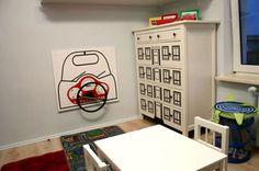 Idea – I like the steering wheel idea on the wall of the playroom – Busy Board Bedroom Wall, Kids Bedroom, Bedroom Decor, Bedroom Ideas, Little Boys Rooms, Kids Rooms, Hot Wheels Bedroom, Boy Car Room, Toy Corner