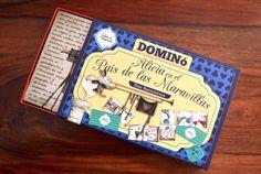 ¡A jugar! Con este dominó, desarrollado por Ediciones TTT en su colección Ludoteca Ilustrada, de los personajes de Iban Barrenetxea en 'Alicia en el País de las Maravillas'.