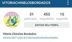 Convido a todos a me seguirem no Instagram Sejam bem Vindos!