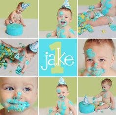 ohio cake smash photography #nataliejoycreations