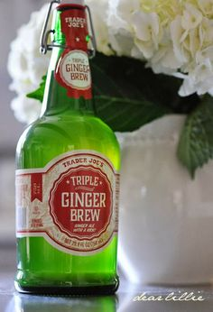 Good-bye Reed's Ginger beer Hello Trader Joe's Ginger Brew .. less sweet which I love