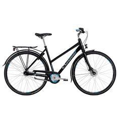 Crescent Rissa - Damcykel för stadstrafik och medellånga pendlingsturer. Sportig sittställning och 7 Shimano Nexus-växlar som hjälper dig att hålla farten.