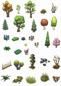 Isometric Game Illustration by Dana Brancucci at Coroflot.com