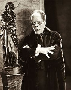 """""""So Lon Chaney moves like a lonely ghost amid the stark and impressive realism of the men he creates upon the shadow sheet. If you know him on the screen, you know him as well as anyone but his wife and his son and his director. But it must be said that they love him very dearly."""" -- Ivan St. Johns, Photoplay Magazine (1927).  Bizarre Los Angeles"""
