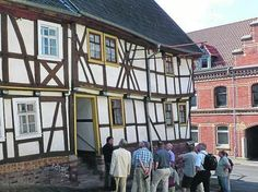 """Guesthouse (""""Zum Stern"""") that Luther stayed at on the way to the Wartburg."""
