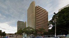 Camargo Correa & Morro Vermelho - Offices - by Joao Filgueiras Lima - #architecture #googlestreetview #googlemaps #googlestreet #brazil #brasilia #brutalism #modernism