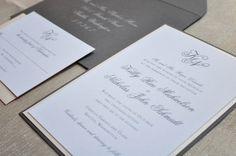 Wedding Invitation  Traditional by CoppiaCreativa on Etsy