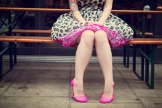 Image shared by Debbie Leite. Find images and videos about girl, fashion and pretty on We Heart It - the app to get lost in what you love. I Love My Fiance, Pin Up Style, My Style, Girlie Style, Small Town Girl, Rockabilly Fashion, Rockabilly Style, Couture, Retro
