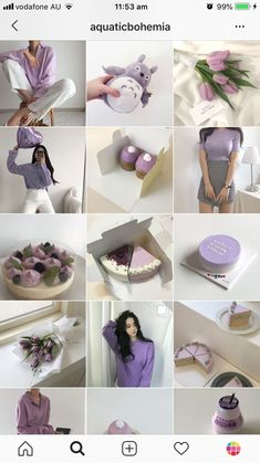 Instagram Blog, Layout Do Instagram, White Instagram Theme, Best Instagram Feeds, Instagram Feed Ideas Posts, Instagram Grid, Instagram Design, Pink Themes, Color Themes