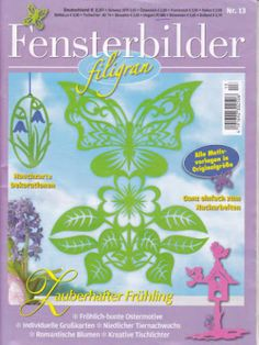 Fensterbilder Filigran No.13 Paper cutting patterns