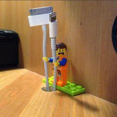Lego - organizando fios