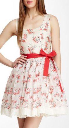 Valentino Silk Floral Dress <3