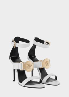 624a939c8d8 Medallion Signature Sandal from Versace Women s Collection. Seductive