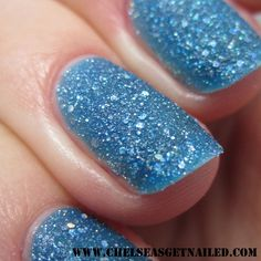 OPI Get Your Number (Liquid Sand...dries to a matte glitter)