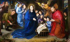 Adoration of the Shepherds by Hugo van der Goes