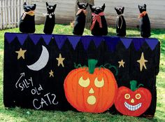 Fun (penny-pinching) Halloween games from A Harvest and Halloween Handbook