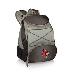 Picnic Time Louisville Cardinals PTX Backpack Cooler, Black