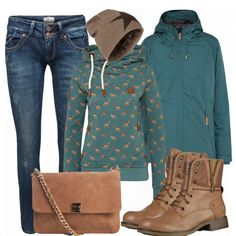 Herbst-Outfits: Love bei FrauenOutfits.de ____ #frauenoutfits #damenoutfit #damenmode #mode #frauenmode #outfit #fashion #trend #kleidung #herbst #winter #klamotten #stiefeletten #damenjacke #inspiration #modeinspiration #outfitinspiration #mantel #frauenmantel