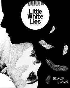 "Little White Lies ""Black Swan"" issue by Alessandro Crippa, via Behance"