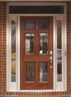 Fantastic 6 Lite Wooden Storm Door In 2019 For The Home Wood Door Handles Collection Olytizonderlifede