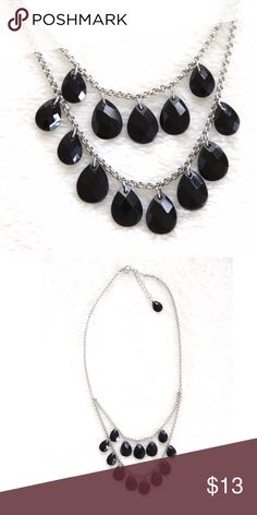 Black Beaded Necklace Worn a few times. Excellent condition! American Eagle Outfitters Jewelry Necklaces