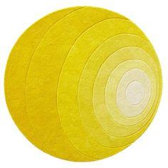 LUNA yellow, rug Verner Panton, Verpan