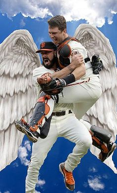 brian wilson & buster posey FAVE