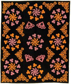 Original, maker unknown, circa 1880-1900, probably made in Meyersdale, Pennsylvania, 91.5 x 69.25 inches.